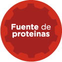 Fuente de proteinas